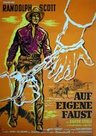 Ride Lonesome - German Movie Poster (xs thumbnail)