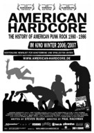 American Hardcore - German poster (xs thumbnail)