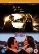 Before Sunset - British DVD movie cover (xs thumbnail)