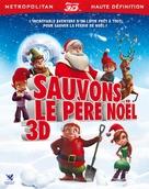 Saving Santa - French Blu-Ray cover (xs thumbnail)