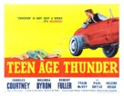 Teenage Thunder - Movie Poster (xs thumbnail)