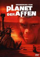 Conquest of the Planet of the Apes - German DVD cover (xs thumbnail)
