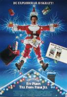 Christmas Vacation - Swedish Movie Poster (xs thumbnail)
