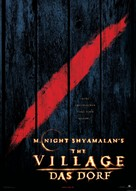 The Village - German Movie Poster (xs thumbnail)