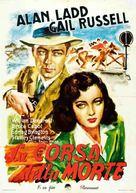 Salty O'Rourke - Italian Movie Poster (xs thumbnail)