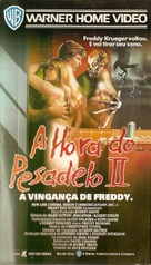 A Nightmare On Elm Street Part 2: Freddy's Revenge - Brazilian VHS cover (xs thumbnail)