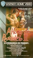 A Nightmare On Elm Street Part 2: Freddy's Revenge - Brazilian VHS movie cover (xs thumbnail)