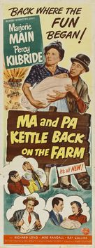Ma and Pa Kettle Back on the Farm - Movie Poster (xs thumbnail)