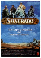 Silverado - Spanish Movie Poster (xs thumbnail)