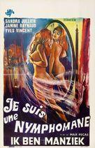Je suis une nymphomane - Belgian Movie Poster (xs thumbnail)