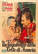 If I Were King - Italian Movie Poster (xs thumbnail)