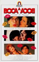 Boca a boca - German VHS movie cover (xs thumbnail)
