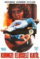 Gatti rossi in un labirinto di vetro - Turkish Movie Poster (xs thumbnail)