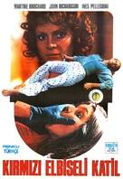 Gatti rossi in un labirinto di vetro - Turkish Movie Poster (xs thumbnail)