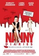 The Nanny Diaries - German Movie Poster (xs thumbnail)
