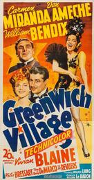 Greenwich Village - Movie Poster (xs thumbnail)