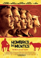 The Men Who Stare at Goats - Mexican Movie Poster (xs thumbnail)