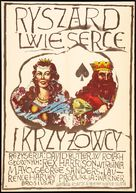 King Richard and the Crusaders - Polish Movie Poster (xs thumbnail)