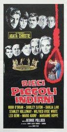 Ten Little Indians - Italian Movie Poster (xs thumbnail)