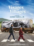 Visages, villages - Belgian Movie Poster (xs thumbnail)
