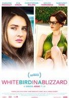 White Bird in a Blizzard - Dutch Movie Poster (xs thumbnail)
