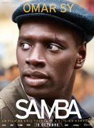 Samba - French Movie Poster (xs thumbnail)