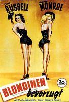 Gentlemen Prefer Blondes - German Movie Poster (xs thumbnail)