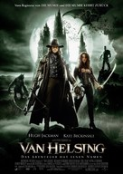Van Helsing - Danish Movie Poster (xs thumbnail)
