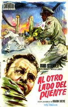 Across the Bridge - Spanish Movie Poster (xs thumbnail)