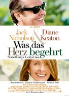 Something's Gotta Give - German Movie Poster (xs thumbnail)