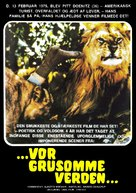 Ultime grida dalla savana - Danish Movie Poster (xs thumbnail)