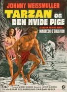 Tarzan and His Mate - Danish Movie Poster (xs thumbnail)