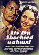Since You Went Away - German Movie Poster (xs thumbnail)