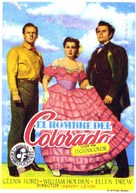 The Man from Colorado - Spanish Movie Poster (xs thumbnail)