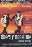 Gods and Monsters - Spanish Movie Poster (xs thumbnail)