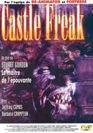 Castle Freak - French DVD cover (xs thumbnail)