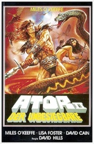 Ator 2 - L'invincibile Orion - German VHS movie cover (xs thumbnail)