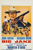 Big Jake - Belgian Movie Poster (xs thumbnail)