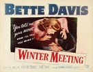 Winter Meeting - Movie Poster (xs thumbnail)