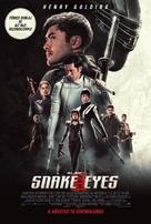 Snake Eyes: G.I. Joe Origins - Turkish Movie Poster (xs thumbnail)