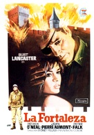Castle Keep - Spanish Movie Poster (xs thumbnail)