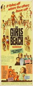 The Girls on the Beach - Movie Poster (xs thumbnail)