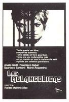 Las melancolicas - Spanish Movie Poster (xs thumbnail)
