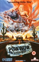 Powwow Highway - British VHS cover (xs thumbnail)