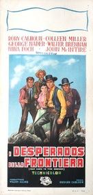 Four Guns to the Border - Italian Movie Poster (xs thumbnail)