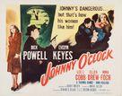 Johnny O'Clock - Movie Poster (xs thumbnail)