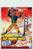 The Creature Walks Among Us - Belgian Movie Poster (xs thumbnail)