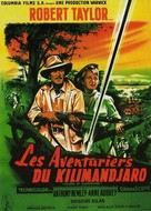 Killers of Kilimanjaro - French Movie Poster (xs thumbnail)