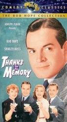 Thanks for the Memory - VHS cover (xs thumbnail)