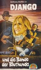 Django il bastardo - German VHS cover (xs thumbnail)